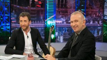 Jean Paul Gaultier confiesa en 'El Hormiguero 3.0' dónde surgió el diseño de pechos cónicos que vistió Madonna