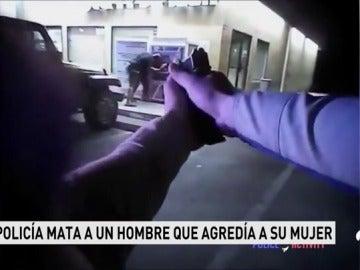 Un Policía mata a un hombre que agredía a su mujer