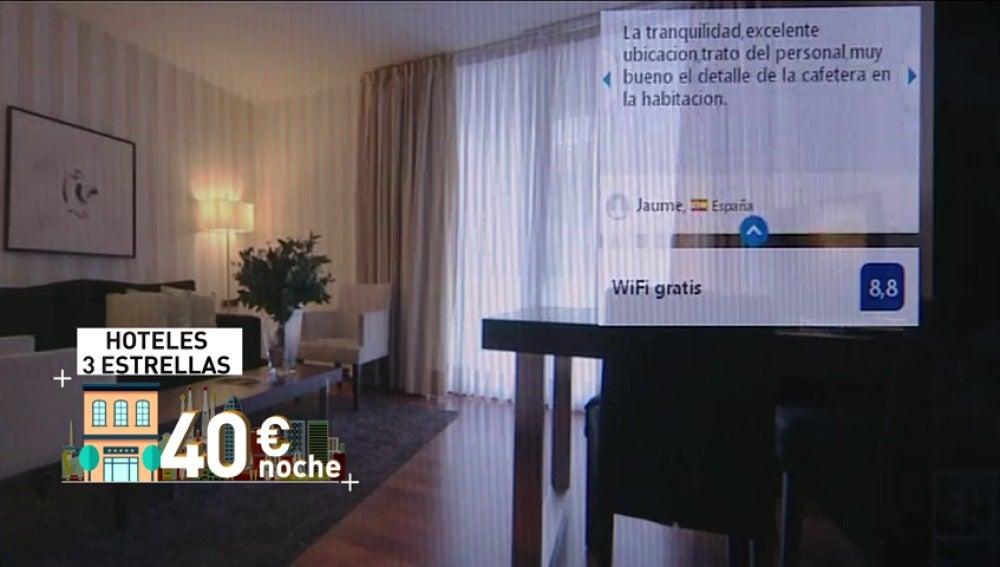 Antena 3 tv baja hasta un 40 el precio de las for Hoteles con habitaciones cuadruples en barcelona