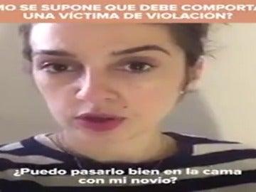 """Un colectivo feminista denuncia en un vídeo el informe privado presentado por el abogado de """"La Manada"""""""