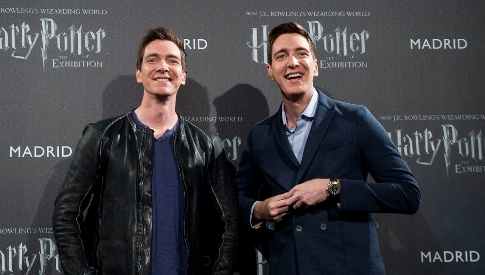 Los gemelos Weasley visitan Madrid