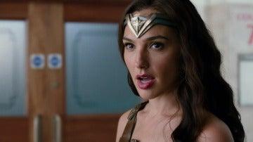 Wonder Woman en 'Liga de la Justicia'