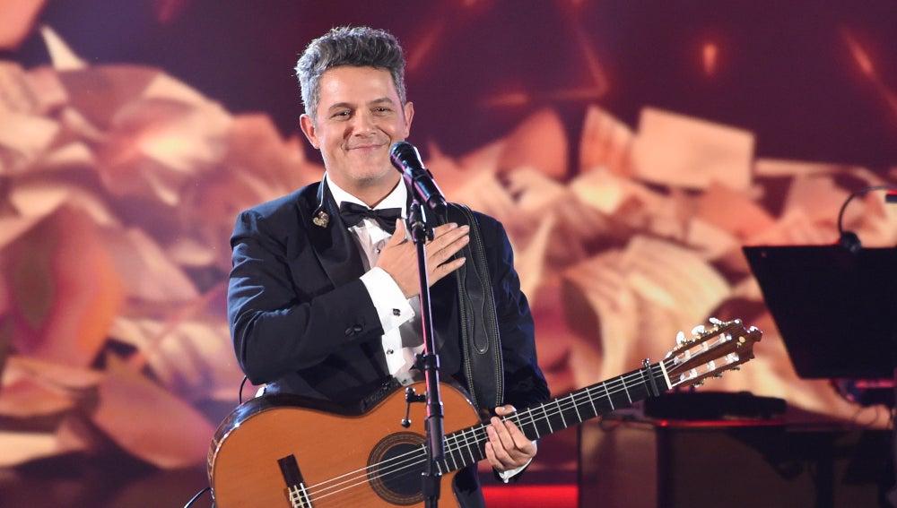 Alejandro Sanz en los Grammys Latinos 2017