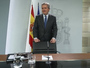 El portavoz del Gobierno y ministro de Educación, Cultura y Deporte, Íñigo Méndez de Vigo