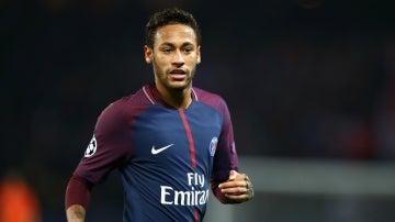 Neymar, con el PSG