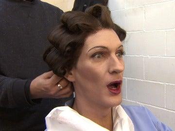 Las transformaciones más espectaculares de la octava gala se viven en la sala de maquillaje