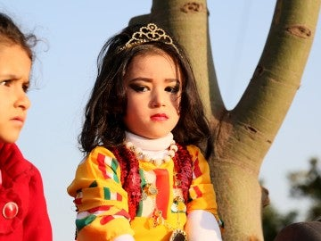 Una niña iraquí