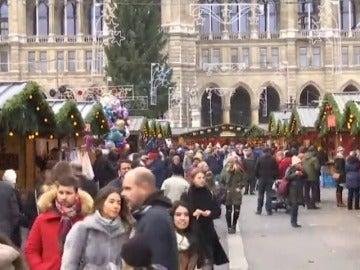 Viena abre su reconocido mercadillo navideño