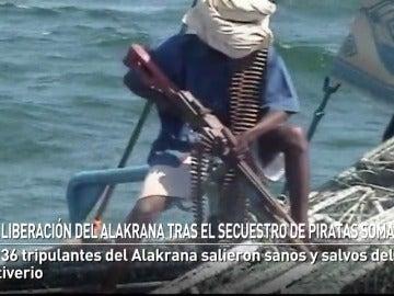 La liberación del Alakrana tras el secuestro de piratas somalíes