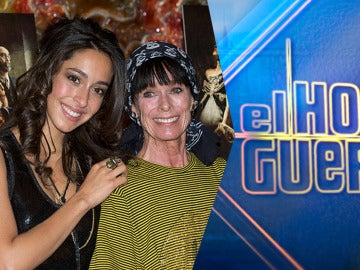 Las actrices Geraldine y Oona Chaplin visitarán el jueves 'El Hormiguero 3.0'