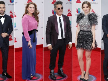 Alfombra Roja de los Grammys Latinos 2017