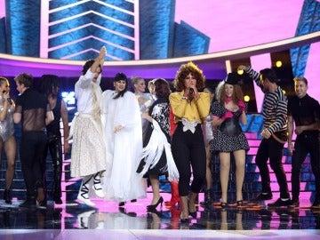 Una Lucía Gil encarnada en Whitney Houston se hace con el triunfo en la octava gala de 'Tu cara me suena'