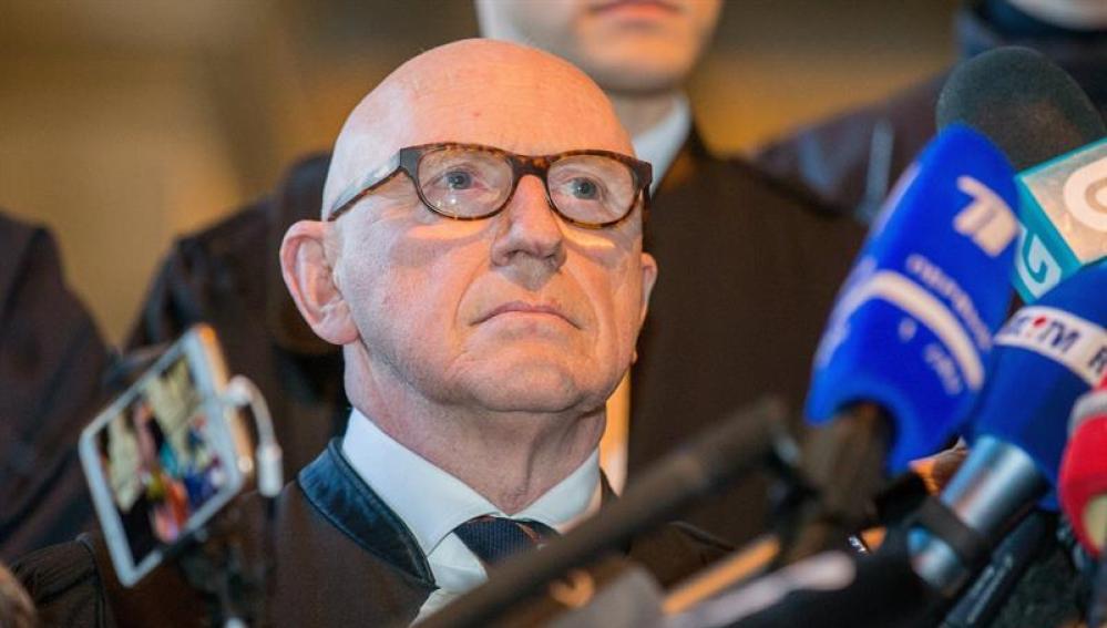El abogado de Carles Puigdemont, Paul Bekaert