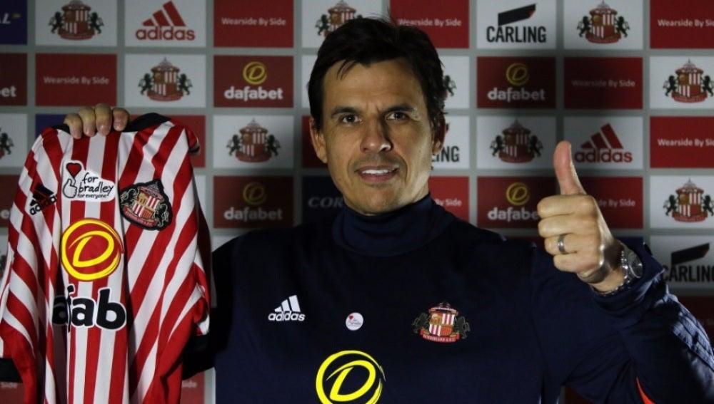 Chris Coleman, nueve entrenador del Sunderland