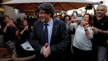 El expresident de la Generalitat Carles Puigdemont