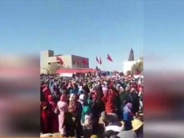 Estampida en Marruecos