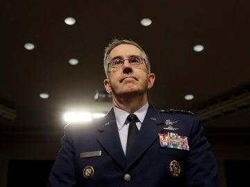 El jefe del Comando Estratégico de EEUU, John Hyten