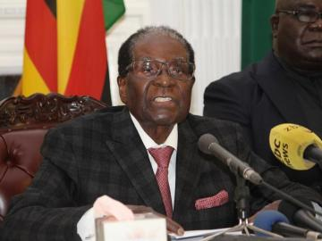 El expresidente de Zimbabue, Robert Mugabe