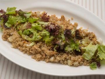 Ensalada de quinoa e hinojo