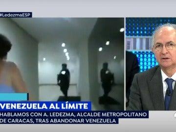 """Antonio Ledezma: """"Los secuestrados se liberan y yo estuve secuestrado más de mil días por la tiranía de Nicolás Maduro"""""""