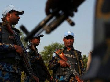 Policía en Sudán del Sur
