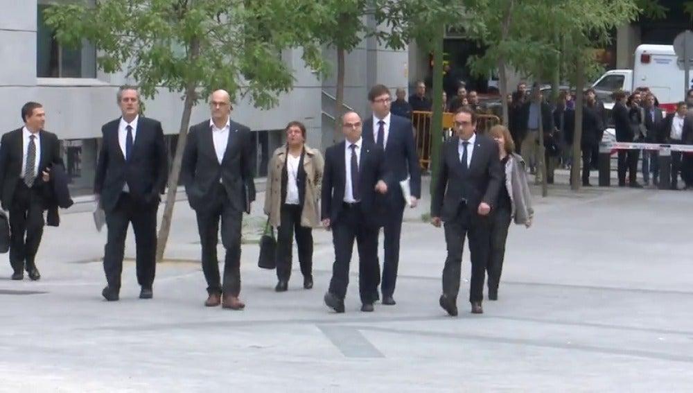 Turull y Rull piden a la Audiencia Nacional su excarcelación alegando que acatan las medidas del artículo 155