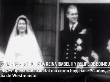 Las bodas de platino de la Reina Isabel II y Felipe de Edimburgo