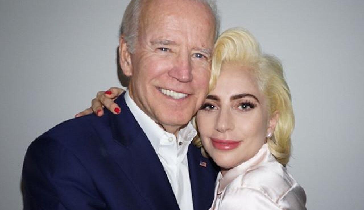 Lady Gaga y Joe Biden presentan su nuevo proyecto solidario