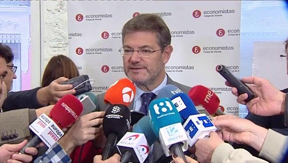 Catalá anuncia que se investigarán los mensajes en las redes sociales celebrando la muerte de José Manuel Maza por si son delito