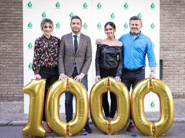 Presentadores Zapeando 1.000
