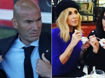 La reacción de Marta Sánchez y Vicky Martín Berrocal al ver a Zidane se hace viral
