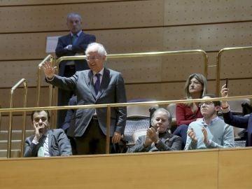 Antonio Ledezma durante la ovación