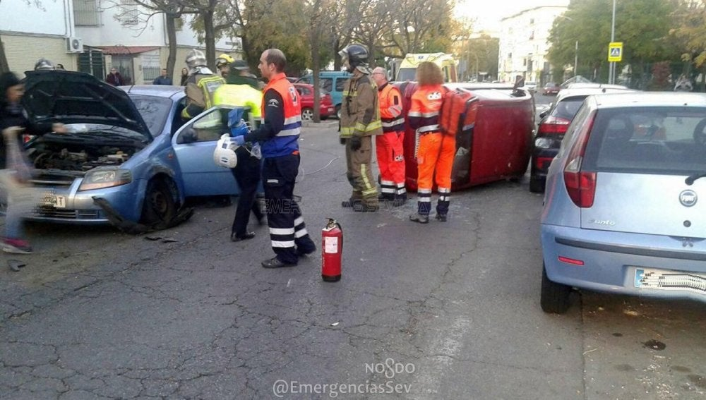 Accidente en Sevilla