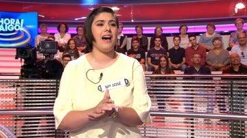 María José conquista al público con un tema de Antonio Orozco