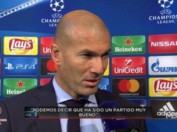 """Zidane: """"No había problemas con Cristiano y Benzema, se habla mucho pero nosotros seguimos trabajando"""""""
