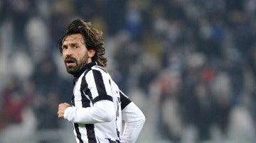 Pirlo, durante su etapa en la Juventus