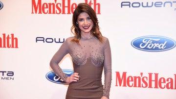 Ares Teixidó durante la gala de los Premios Men's Health