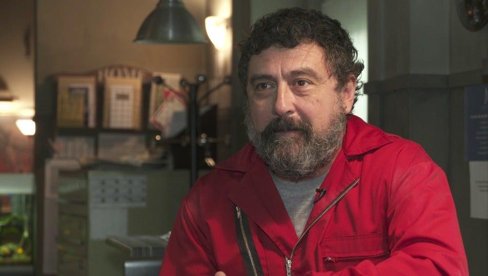 Paco Tous habla sobre la muerte de Moscú en 'La casa de papel'.