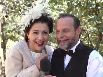 Francisca y Raimundo se acuerdan de su hijo Tristán en el día más feliz de sus vidas