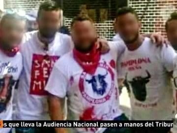 Los cinco acusados de violación múltiple en San Fermín