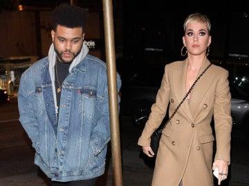 The Weeknd y Katy Perry cenaron juntos en West Hollywood