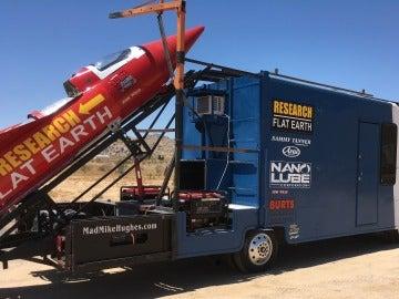 El cohete que ha diseñado para el lanzamiento