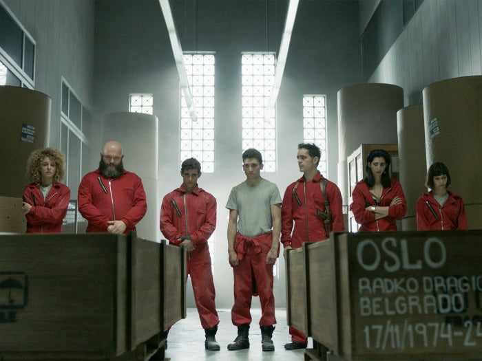 Money heist season 1 episode 14 english dub | La Casa de