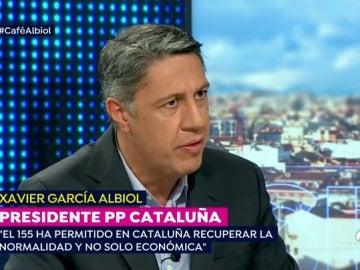 """Albiol, a Puigdemont: """"Me dice dónde está escondido y hacemos un cara a cara en Bruselas"""""""