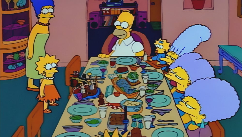 Acción de Gracias con 'Los Simpson'
