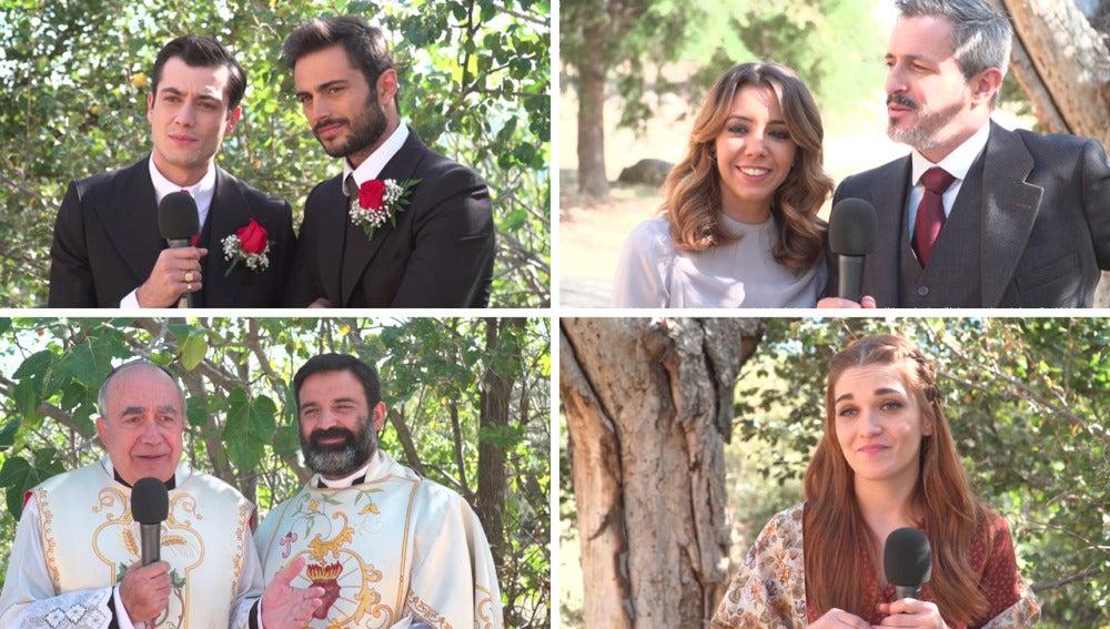 Los testigos de la boda del año se sinceran sobre el futuro incierto de la pareja