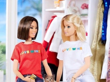 Publicación en la cuenta de Instagram oficial de Barbie