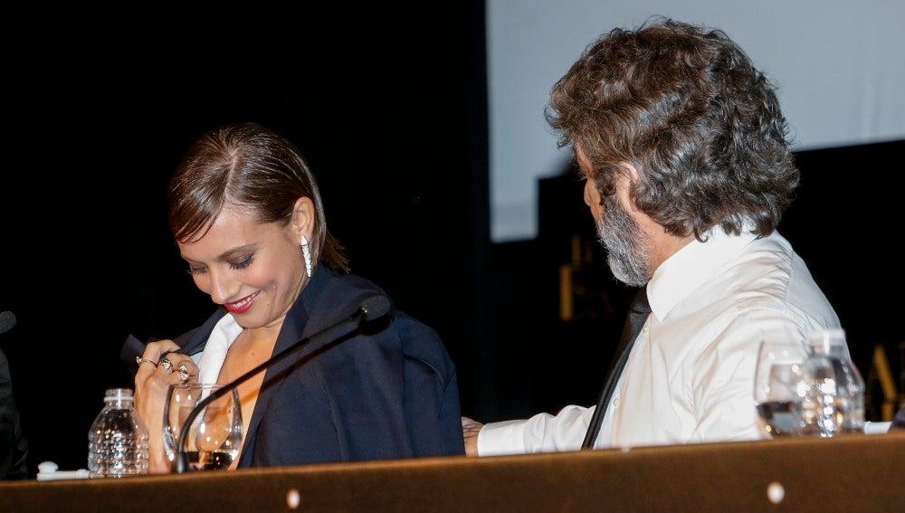 Ricardo Darín y Michelle Jenner