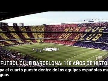 Los 118 años de historia del Fútbol Club Barcelona