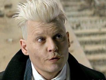 Johnny Depp es Grindelwald